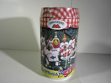 NEW Cleveland Indians SLIDER Wooden Puzzle 500 Piece Smuckers Tin Bank Sabathia
