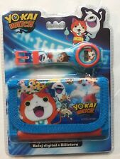 YO-KAI WATCH Digital Watch & Wallet Set - Official Licensed Product