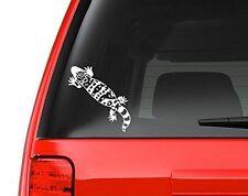 "Gila Monster Decal Sticker - White 5"" Vinyl Decal for Car, Macbook"