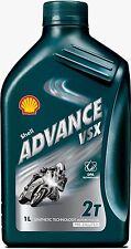 Shell Advance VSX 2T Semi Synthetic 2-Stroke Motorcycle Oil 2 Litre 2L