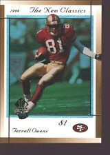 TERRELL OWENS 1999 SP AUTHENTIC ATHLETIC REFRACTOR MINT SP SAN FRANCISCO 49ERS