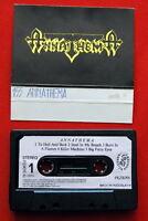 ANNATHEMA S/T 1989 ORIGINAL RARE EXYUG CASSETTE TAPE HEAVY THRASH SPEED METAL