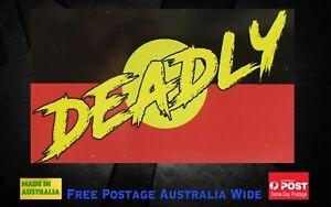 Deadly Aboriginal Flag Fridge Magnet, indigenous, koori