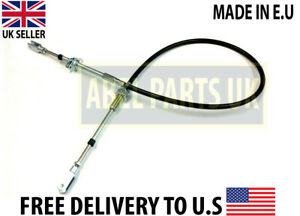 JCB PARTS- FORWARD AND REVERSE CABLE FOR JCB LOADALL 525 (910/18400) MADE IN E.U