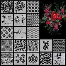 Layering Stencils Templates for Scrapbooking Drawing Home Decor Card DIY Gifts