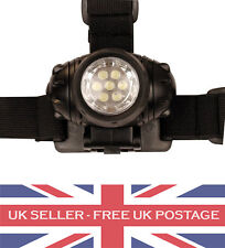 Military Head Torch 7 LED Camping Cadet Security Equipment Fishing Shooting Army