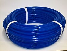 "Speedway 6mm bore PVC Reinforced Fuel pipe - 1/4"" Hose - Blue"