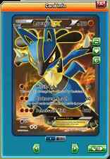 Pokemon Lucario EX FULL ART RARO 107/111 INTERCAMBIO EN JUEGO