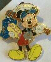 Mickey Mouse New York City tourist Hot Dog NYC   disney pin  W