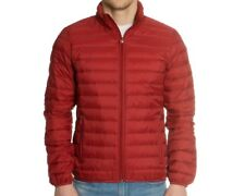 BNWT ARMANI JEANS RED PACKABLE DOWN JACKET with AJ BAG XXL FREE P&P RRP £169.99