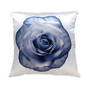 """Pillow, 100% Soft Velvteen Polyester, Machine Washable, 16x16"""", Floral Prints"""