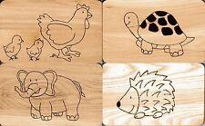 Handgefertigte Küchenhelfer aus Holz