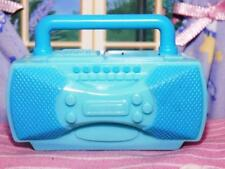 Fisher Price Loving Family Dollhouse Blue Radio Stereo Boombox fits Barbie Kelly