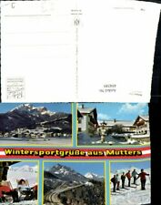 454249,Mutters Totale Skifahrer Europabrücke Mehrbildkarte
