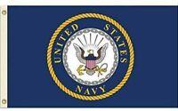 United States Navy Flag USN Emblem Banner US Military Pennant New 3x5
