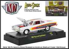M2 Machines 1:64th Diecast Car '69 Plymouth Road Runner in Acrylic Display Case