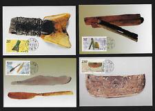 PRC China Maximum Card FDC — 1996, Artifacts from Hemudu Ruins #2677-80 Lot 7102