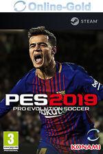 Pro Evolution Soccer 2019 PES 19 - Standard Key - Steam PC Download Code - EU