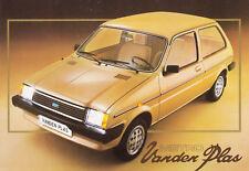 AUSTIN METRO VANDEN PLAS Kleinwagen Klassiker Prospekt Brochure 1982 /52