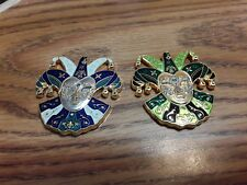 (2) Activated Venetian Masquerade Geocoins