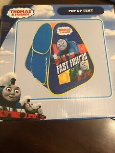 """THOMAS AND FRIENDS CHILDRENS POP UP TENT """"FAST FRIENDS"""" NEW IN BOX"""