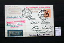 STORIA POSTALE VOLO ZEPPELIN German Empire,  LZ 127 2.11.1929  (ros482