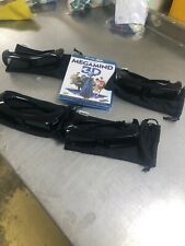 4 pairs of SONY 3D Glasses TDG BR250 Free 3d Film