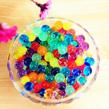 NEW 100PCS Pearl Shape Soft Crystal Soil Water Beads Mud Grow Magic Jelly Balls