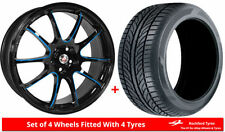 Mini Car Wheels with Tyres One Piece Rim 8 Number of Studs