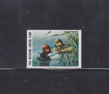 State Hunting/Fishing Revenues - OK - 1989 Duck Stamp OK-10 ($4) - MNH