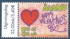 Aland Finland 2001 MNH Stamp - Valentine's Day - Valentines