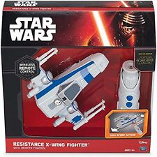 Star Wars Resistance RC X Wing Fighter Ages 4+ New Toy Remote Control Plane Fly