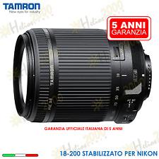 TAMRON OBIETTIVO STABILIZZATO 18-200 PER NIKON D3300 D3200 D5300 D5200 D3100