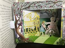 Alice in Wonderland Amazing Pop Up by Maria Taylor New Deluxe Gift See Pics ◐‿◐