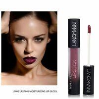 12 Colors Matte Lip Gloss Lip Glaze Nude Lipstick Women Lasting Good Waterproof
