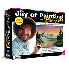 Bob Ross DVD Set The Joy of Painting 20 Learn to Paint Lessons  Scenes PBS TV