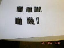 50pcs Of 18 Shank Miniature Carbide End Mills Sharp Mixed Dias Very Lite Use