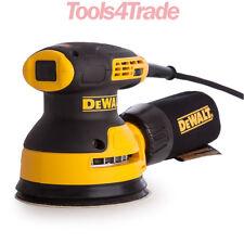 Dewalt DWE6423 240V 125mm Hook & Loop Random Orbit Plam Sander 280W