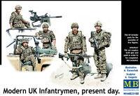 Master Box — Modern UK Infantrymen — Plastic model kit 1:35 Scale #35180