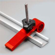 4 PCS Woodworking Universal Platen Miter Track Clamping Blocks M8 Screw