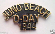 JUNO BEACH D-DAY 1944   World War II Military Veteran Hat Pin P15853 EE