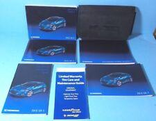 13 2013 Honda CR-Z/CRZ owners manual