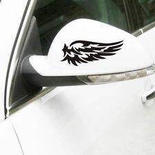 1Pair Angel Wings Guard Reflective Car Sticker Rearview Mirror DIY Motorcycle