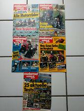 Motorrad, Reisen und Sport, 21 Hefte aus diversen Jahrgängen