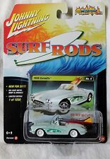 "2017 Johnny Lightning ""Street Freaks"" Surf Rods 1956 Corvette Ships World Wide"