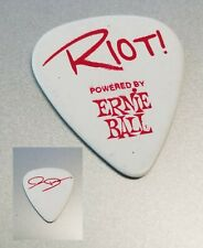 Jay DeMarcus Rascal Flatts Riot Concert Tour Guitar Pick country music white red