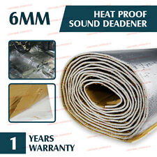 180cmx100cm Aluminum Car Firwall Heat Noise Proof Sound Deadener Insulation Mat
