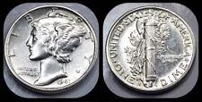 1941-S Mercury Dime - BU Brilliant Uncirculated UNC - US 90% Silver Coin