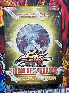 yugioh STORM OF RAGNAROK SPECIAL EDITION MINI BOXE New Factory Sealed
