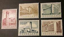 Niederlande Wohltätigkeitsausgabe Sommermarken Mi-Nr. 655/59 **, Versandwahl